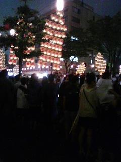秋田の夏祭り